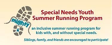 Special needs youth summer running program