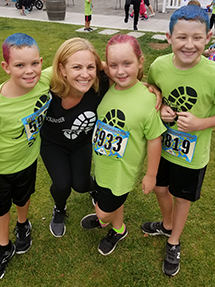 Kristie and Mighty Milers