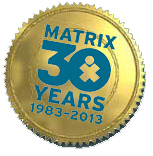 Matrix Parent Network 30 Year logo