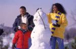 family-building-snowman