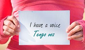 I have a voice