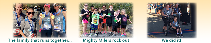 Milers and Mighty Milers photos