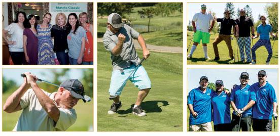 Matrix Classic Golf Tournament 2017 golfers