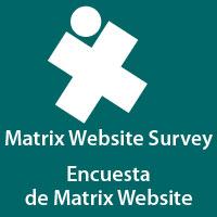 Matrix Website Survey Encuesta de Matrix Website