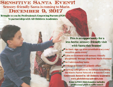 Sensitive Santa