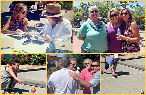 photos from Bocce Tournament