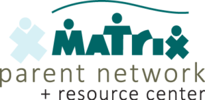Matrix, A Parent Network and Resource Center Logo