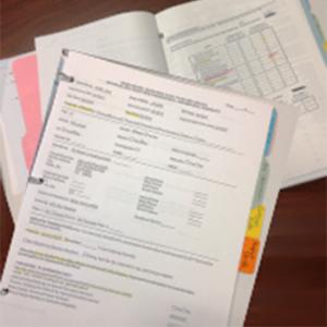 assessment binders