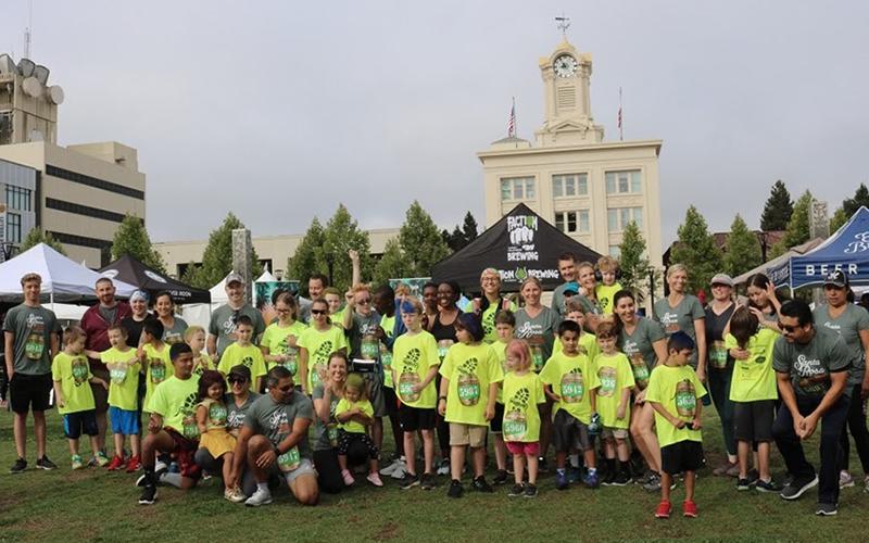 Mighty Milers at the Santa Rosa Marathon