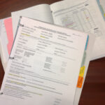 photo of assessment materials