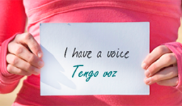 I have a voice, Tengo voz