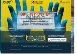 covid-19 PPE distribution event